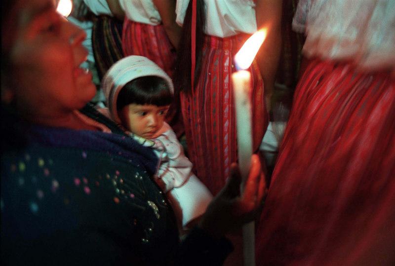 Dia de Nuestra Señora de Guadalupe, Chipas. 1997