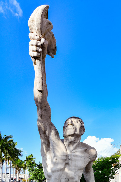 Monument of Resurgence - Campeche, Mexico