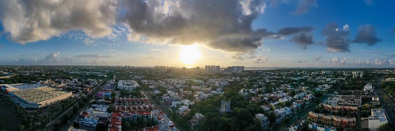 Skyline - Cancun, Mexico