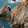 Acapulco, Mexico, Cliff divers<br /> Copyright 2006, Tom Farmer