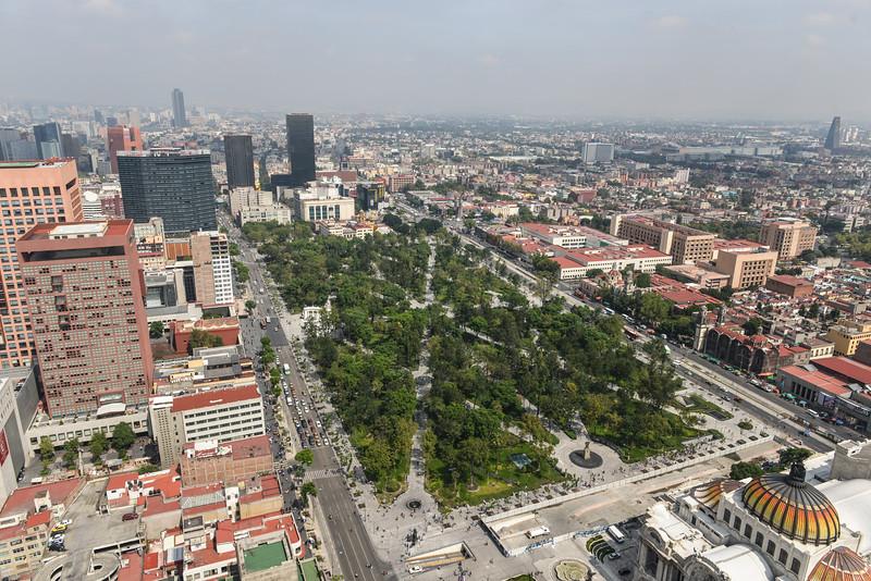 Alameda Central - Mexico City