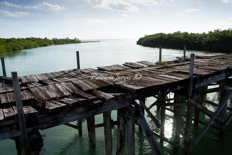Sian Ka'an old bridge-02503