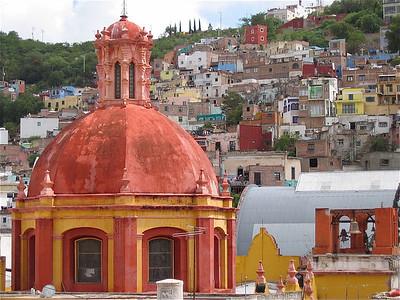 Templo de San Diego. Guanajuato, Mexico.