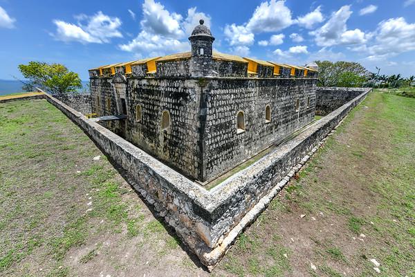 Fort of San Jose el Alto - Campeche, Mexico