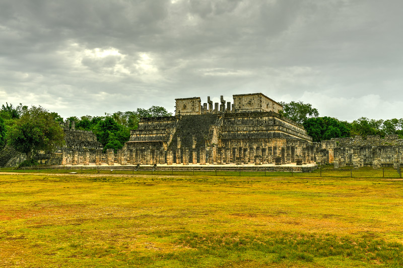 Temple of the Warriors - Chichen Itza