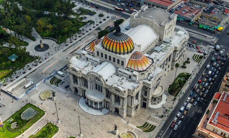 Palacio de Bellas Artes - Palace of Fine Arts