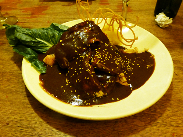 Chicken Mole - Eat in Mexico