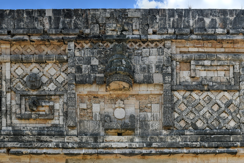 Quadrangle of the Nuns - Uxmal, Mexico