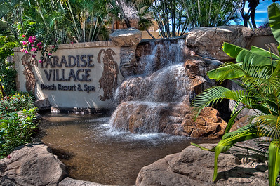 Entrance to Paradise Village March 2010