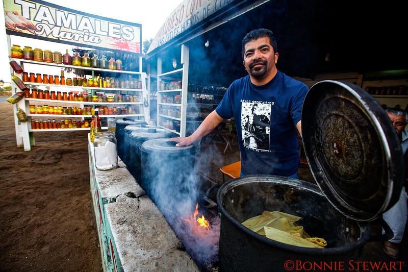 Tamale Vendor
