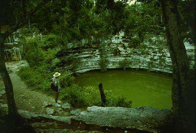 cenote, Chichen Itza 1981