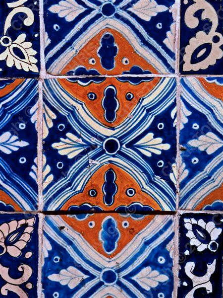 Mexico - DF - centro - bookstore - tile (1)