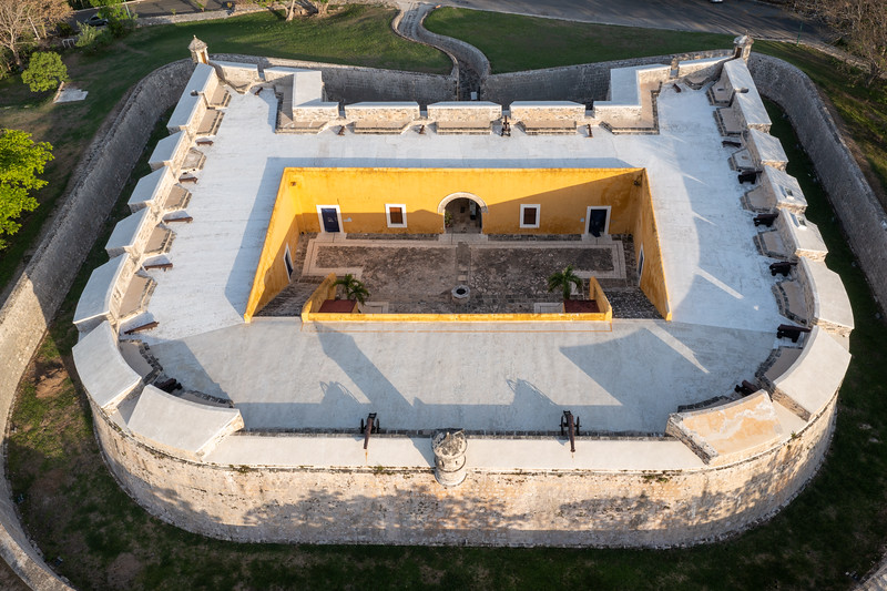 Fort of San Miguel - Campeche, Mexico