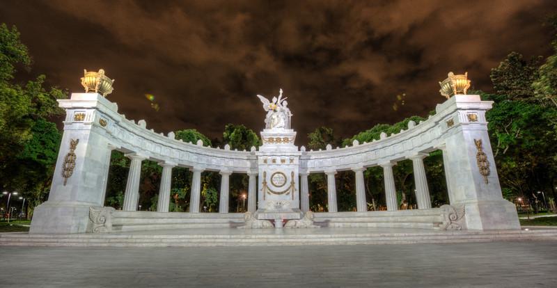 Monument to Benito Juarez in Mexico City