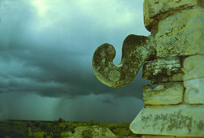Tlaloc, the God of Rain, Chichen Itza