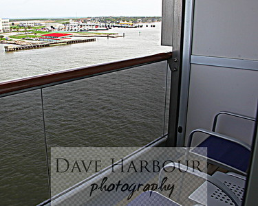 Carnival Triumph Cruise - Leaving Galveston as the voyage begins - Photo by Dave Harbour