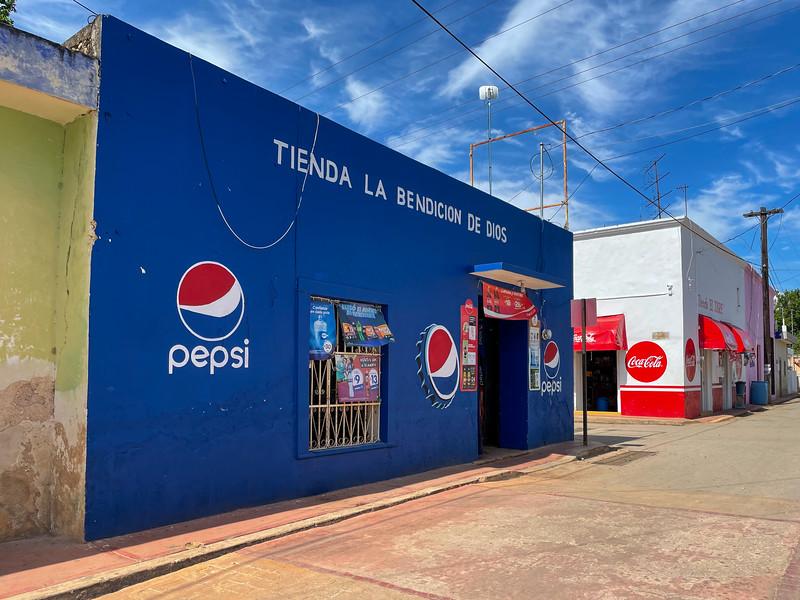 Cola Advertising - Mexico