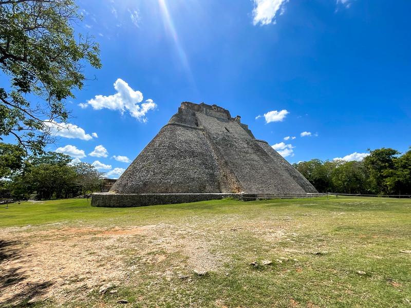 Pyramid of the Magician - Uxmal, Mexico.