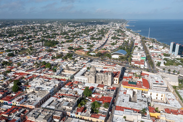 Campeche Skyline, Mexico