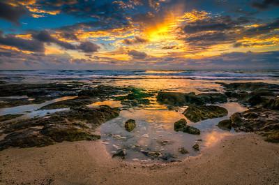 Cancun, Mexico - Sunrise clouds