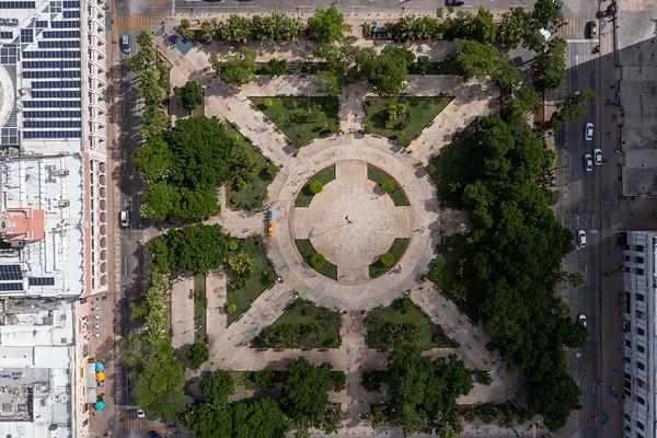 Plaza Grande - Merida, Mexico