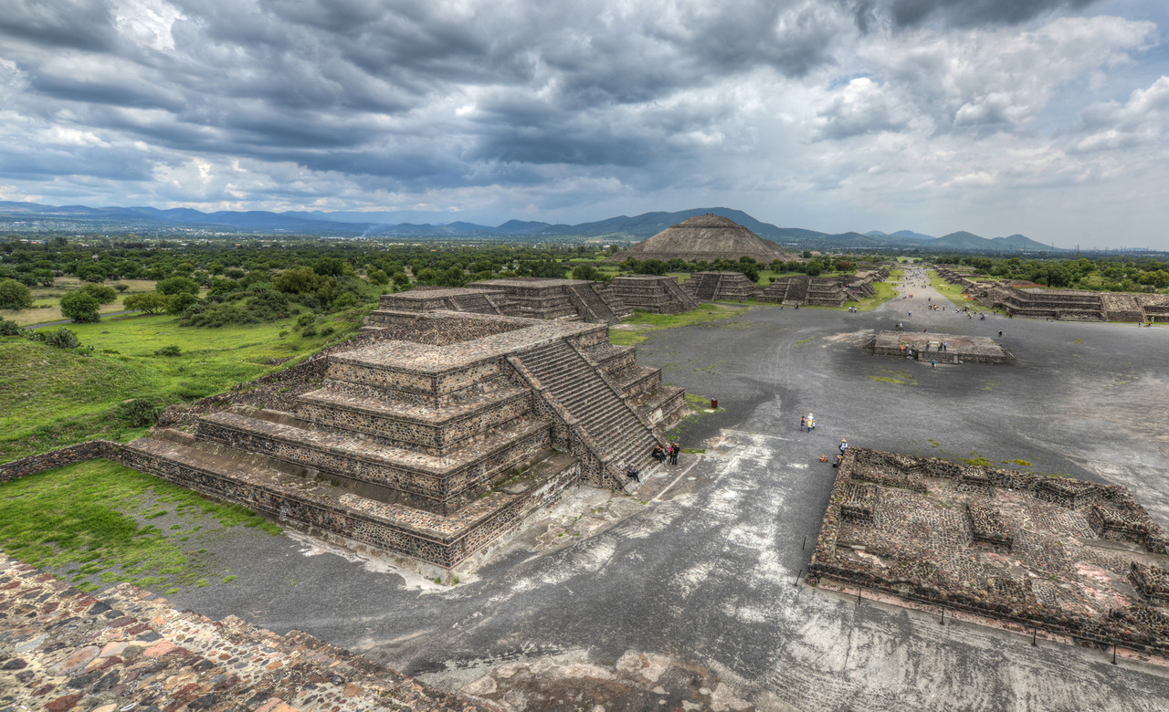 Pyramids of Teotihuacan, Mexico