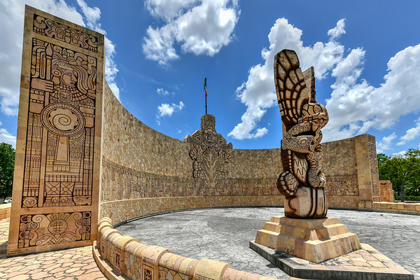 Monument to the Fatherland - Merida, Mexico