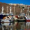Boats in the Ensenada Marina