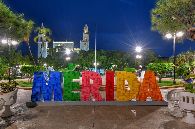 Merida Letters - Mexico