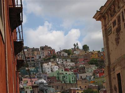 Gestapeld Guanajuato, Mexico.