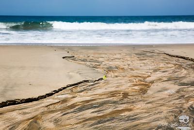 the delta; i love the sediment deposite colors