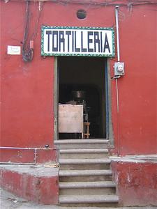 Tortilleria. Guanajuato, Mexico.