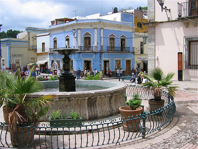 Kleurrijk Guanajuato, Mexico.