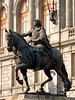 Mexico - DF - centro - national art museum - statue of Charles IV on horse