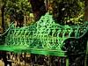 Mexico - DF - centro - park bench