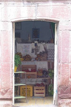 Groenteboer. San Miguel de Allende, Mexico.