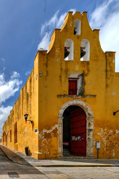 San Roque Church - Campeche, Mexico