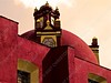 Mexico - DF - centro - red building with dome