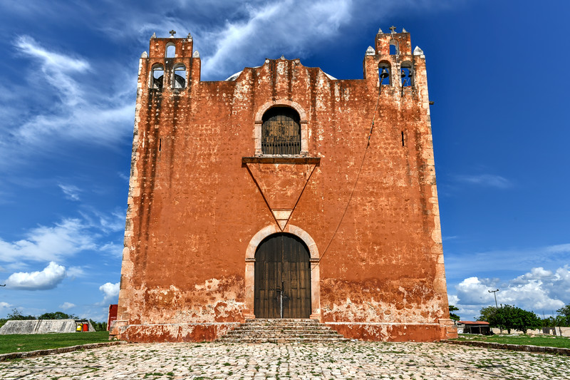 San Mateo Catholic Church - Santa Elena, Mexico