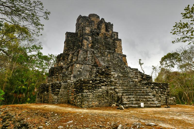 Muyil Mayan Ruins - Mexico