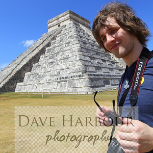 Carnival Triumph Cruise - Progresso - Chichen Itza - Billy Harbour at Pyramid (Model release available) - by Dave Harbour (142).JPG