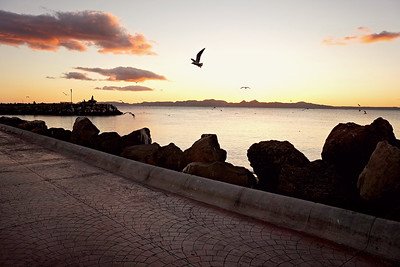 Sunrise on the Malecon, Loreto