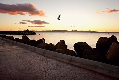 Sunrise on the Marina