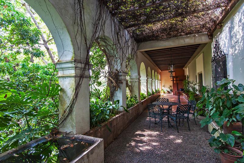 Terrace, Hacienda de Nogueras