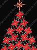 Mexico - DF - centro - Zocalo - Christmas lights - tree