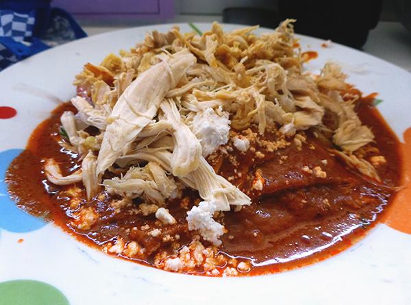 Enchiladas - Eat in Mexico