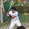 One of the young players on the El Cuyo team.