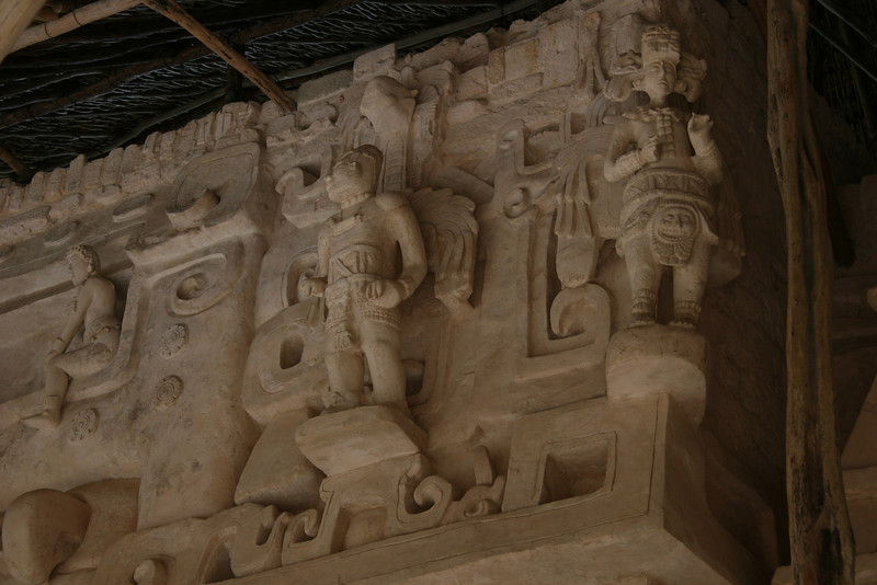 Ek Balem Carvings