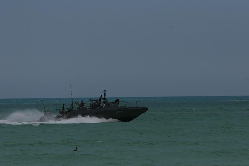 Mexican Navy coastal patrol