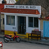 A small restaurant in Rio Lagartos